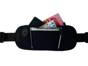 Superior Hüfttasche schwarz