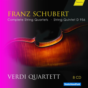 Schubert:Complete String Quartet
