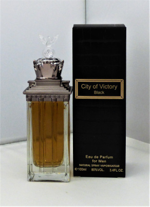 City of Victory Black EdP für Ihn