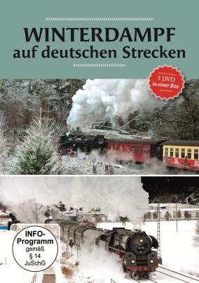 Winterdampf auf deutschen Strecken