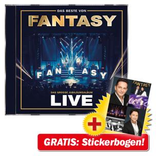 Das Beste von Fantasy - Das große Jubiläumsalbum - Mit allen Hits! Live + GRATIS Stickerbogen