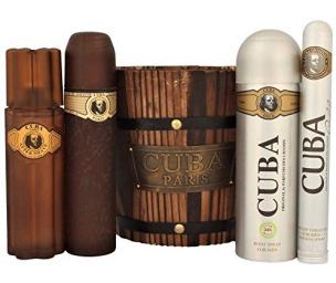 Parfüm Geschenkset Cuba Paris Gold - für Ihn (EdT)
