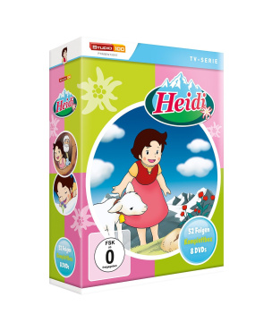 Heidi Komplettbox (Zeichentrickserie)