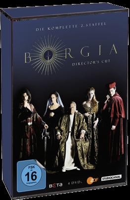 Borgia - Die komplette 2. Staffel / Director's Cut