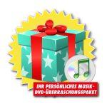 Ihr persönliches Musik-DVD-Überraschungspaket