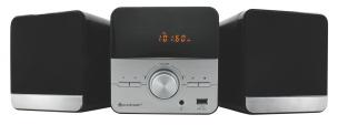 Design Micro Stereo Anlage mit CD/MP3, USB und PLL-Radio