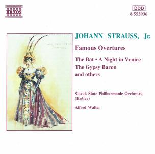 Strauss II: Berühmte Ouvertüren