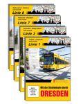 Mit der Straßenbahn durch Dresden, Linien 1 / 3 / 7 / 8 im DVD-Set