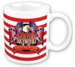 Lynyrd Skynyrd Eagle and Flags Tasse