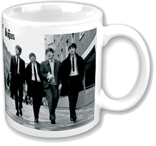 The Beatles Walking In London Tasse