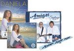 Amigos - Santiago Blue Premium EXKLUSIV 3 Bonustitel + Fanschal + Daniela Alfinito - Ein bisschen sterben (Familien-Spar-Angebot)