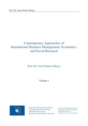 Contemporary Approaches of International Business Management, Economics, and Social Research