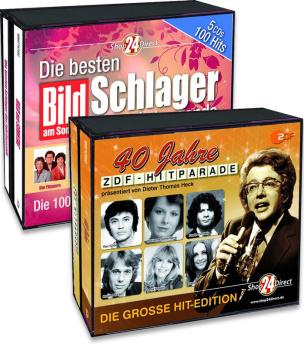 Die besten Schlager des Jahrtausends + 40 Jahre ZDF Hitparade