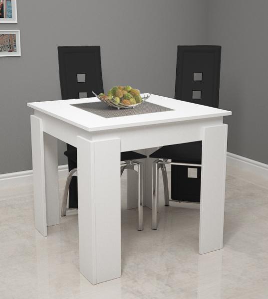 vcm esszimmertisch vikosa holz wei 80cm. Black Bedroom Furniture Sets. Home Design Ideas