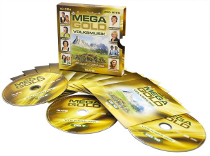 Mega Gold-Volksmusik