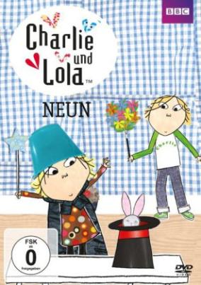 Charlie und Lola - Neun, 1 DVD