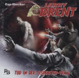 Larry Brent - Tod in der Gespenstervilla, 1 Audio-CD