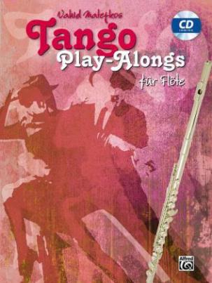 Vahid Matejkos Tango Play-alongs für Flöte, m. Audio-CD