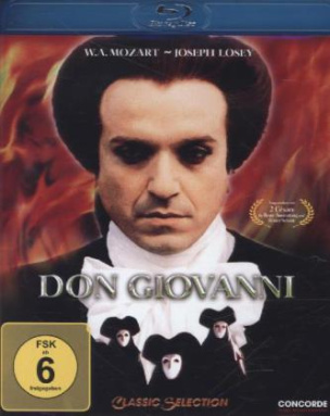 Don Giovanni, 1 Blu-ray