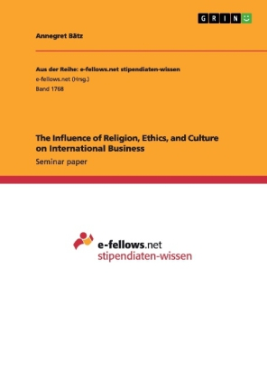 religion and international trade International marketing and culture lesson whether or not there are strong trade unions will impact upon management decisions if religion, values and.