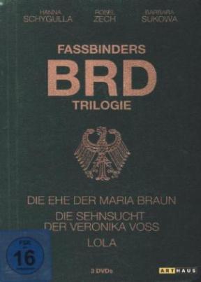 Fassbinder BRD-Trilogie, 1 DVD