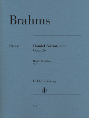 Händel-Variationen op.24, Klavier
