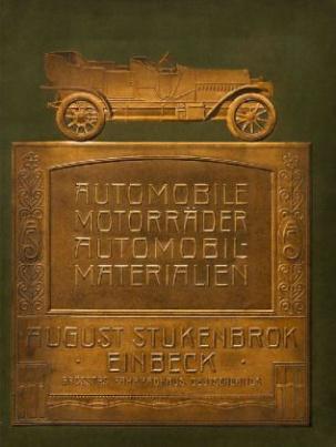 Stukenbrok - Automobile, Motorräder, Automobil-Materialien [um 1910]