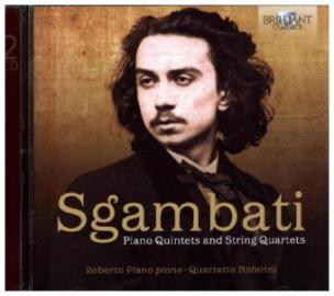Piano Quintets and String Quartets, 2 Audio-CDs