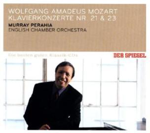 Piano Concertos No. 21 in C Major K.467 & No. 23 in A Major K.488, 1 Audio-CD