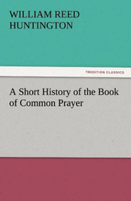 A Short History of the Book of Common Prayer
