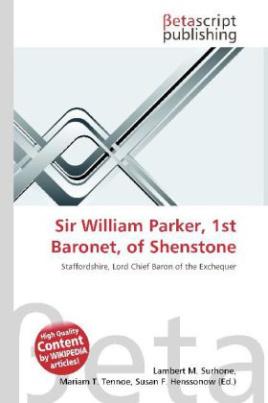 Sir William Parker, 1st Baronet, of Shenstone