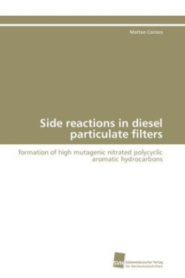 Side reactions in diesel particulate filters