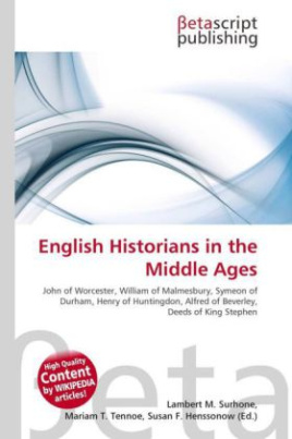 English Historians in the Middle Ages