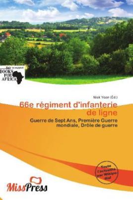 66e régiment d'infanterie de ligne