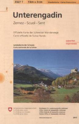 Landeskarte der Schweiz Unterengadin