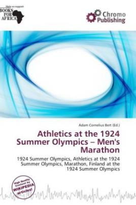 Athletics at the 1924 Summer Olympics - Men's Marathon