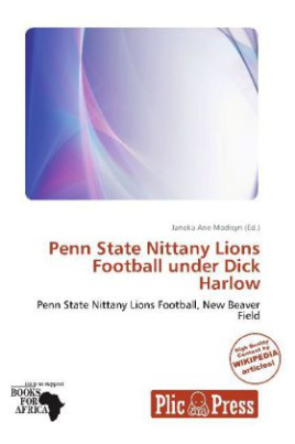 Penn State Nittany Lions Football under Dick Harlow