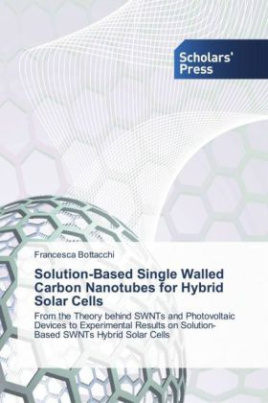 Solution-Based Single Walled Carbon Nanotubes for Hybrid Solar Cells