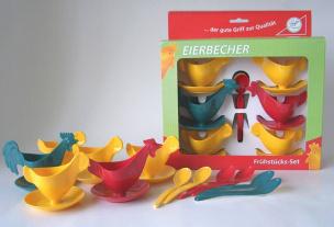 "Frühstücks-Set ""Hühnerfamilie"""