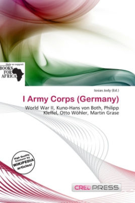 I Army Corps (Germany)