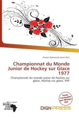 Championnat du Monde Junior de Hockey sur Glace 1977