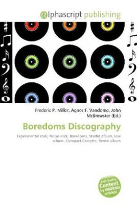 Boredoms Discography