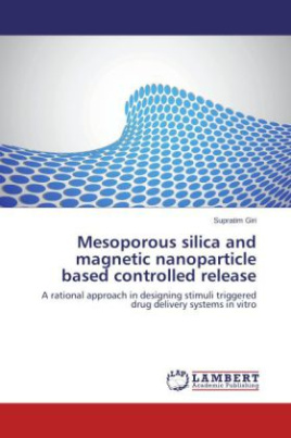 Mesoporous silica and magnetic nanoparticle based controlled release