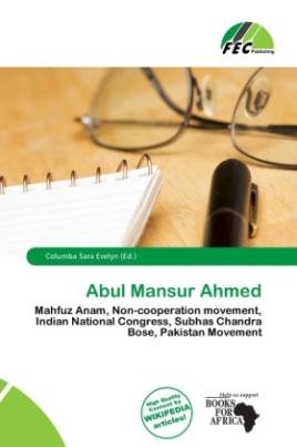 Abul Mansur Ahmed