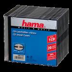 CD-Slim-Box, 20er-Pack, schwarz