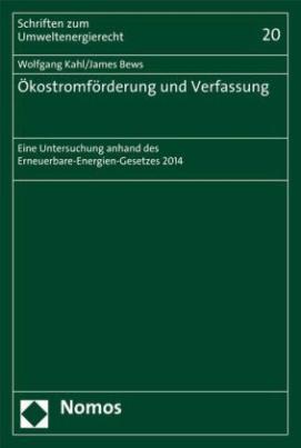 Ökostromförderung und Verfassung