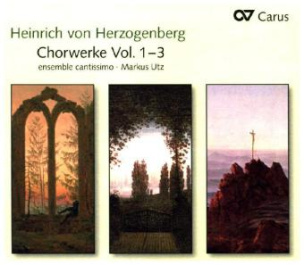 Chorwerke, 3 Audio-CDs. Vol.1-3