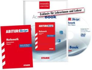 AbiturSkript Mathematik, Gymnasium Bayern + ActiveBook für Lehrer, Buch und DVD-ROM
