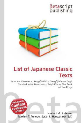 List of Japanese Classic Texts