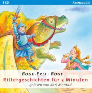 Rittergeschichten für 3 Minuten, Audio-CD
